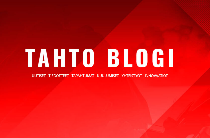 TAHTO uudistuu ja tervehtii uuden blogin lukijaa.